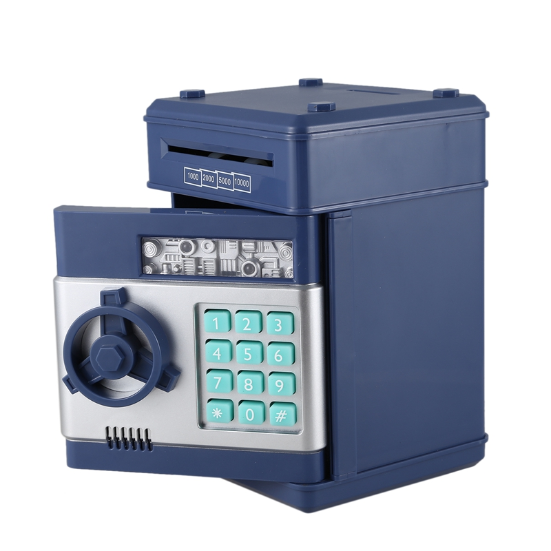 Hucha-Electronica-Contrasena-Caja-De-Dinero-Caja-De-Ahorro-De-Monedas-De-Efe-6W8 miniatura 8