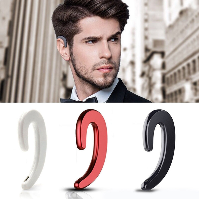 S103-Drahtlos-Bluetooth-Ohr-Buegel-Stereo-Ohr-Clip-Kopfhoerer-Fuer-Smartphone-W7R9 Indexbild 11