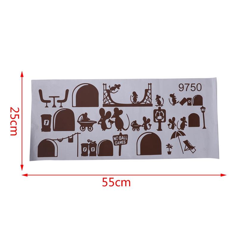 1-Stueck-Schwarze-Maus-Treppenhaus-Aufkleber-25-X-55-Cm-Lustige-Maus-G8W6 Indexbild 10
