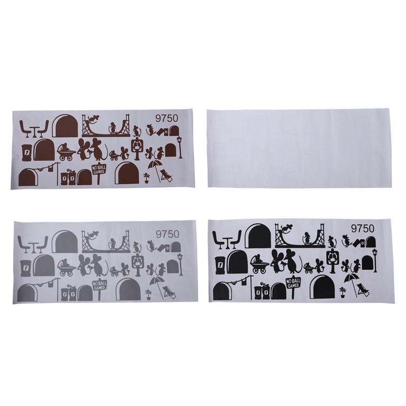 1-Stueck-Schwarze-Maus-Treppenhaus-Aufkleber-25-X-55-Cm-Lustige-Maus-G8W6 Indexbild 11
