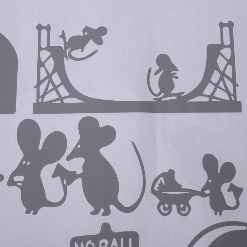 1-Stueck-Schwarze-Maus-Treppenhaus-Aufkleber-25-X-55-Cm-Lustige-Maus-G8W6 Indexbild 26