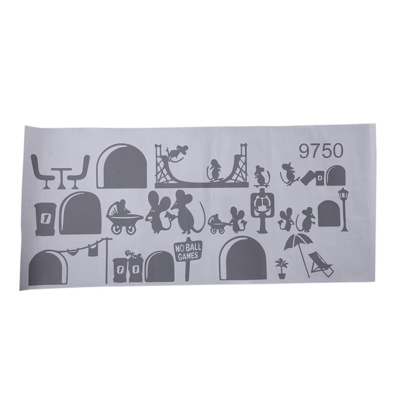 1-Stueck-Schwarze-Maus-Treppenhaus-Aufkleber-25-X-55-Cm-Lustige-Maus-K2N9 Indexbild 22