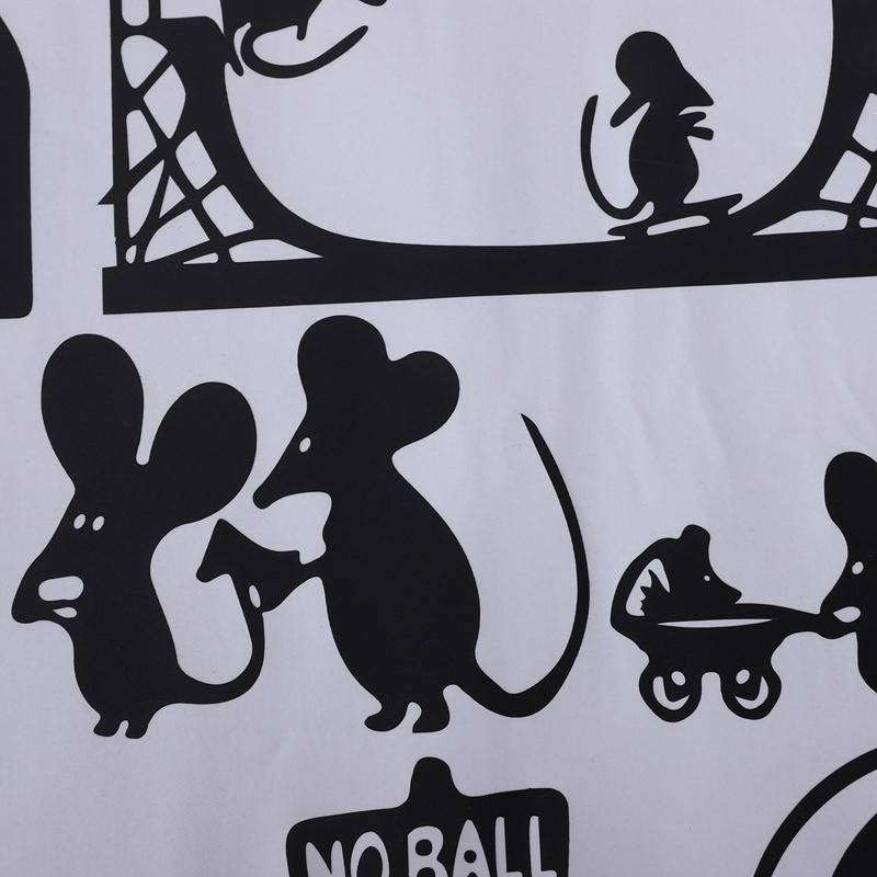 1-Stueck-Schwarze-Maus-Treppenhaus-Aufkleber-25-X-55-Cm-Lustige-Maus-G8W6 Indexbild 36