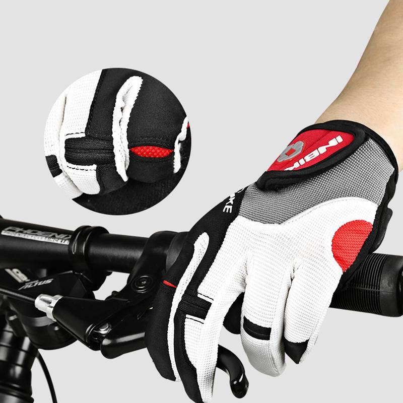 Inbike-Bicyclette-Velo-Gants-De-Velo-Doigt-Complet-Gel-Rembourre-Sports-De-P-1J2 miniature 5