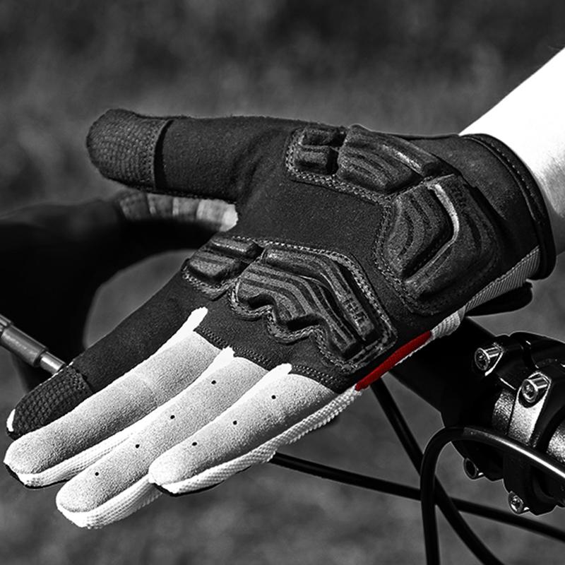Inbike-Bicyclette-Velo-Gants-De-Velo-Doigt-Complet-Gel-Rembourre-Sports-De-P-1J2 miniature 8