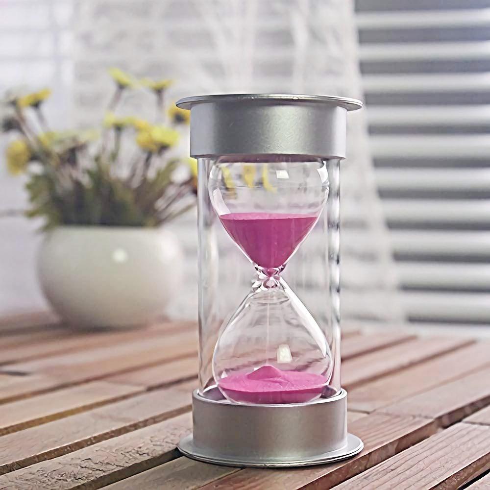 Sablier-de-5-Minutes-Timer-Sable-Moderne-Avec-Du-Sable-Pour-Le-Bureau-de-Ma-T4U4 miniature 4