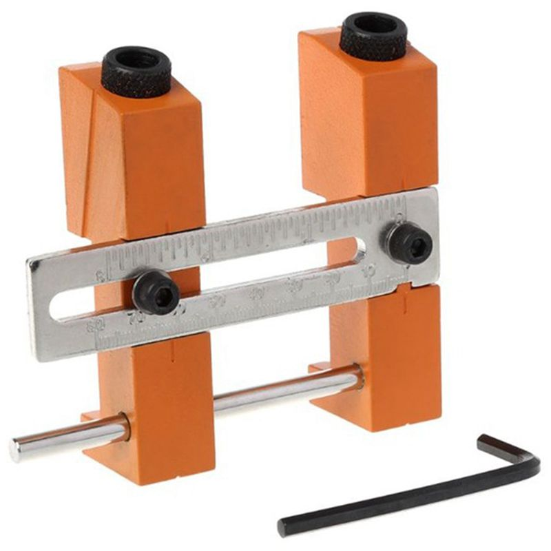 Juego de gu/ías de broca para taladrado de carpinter/ía de carpinter/ía de carpinter/ía de carpinter/ía de articulaci/ón de taladrado de mini orificios