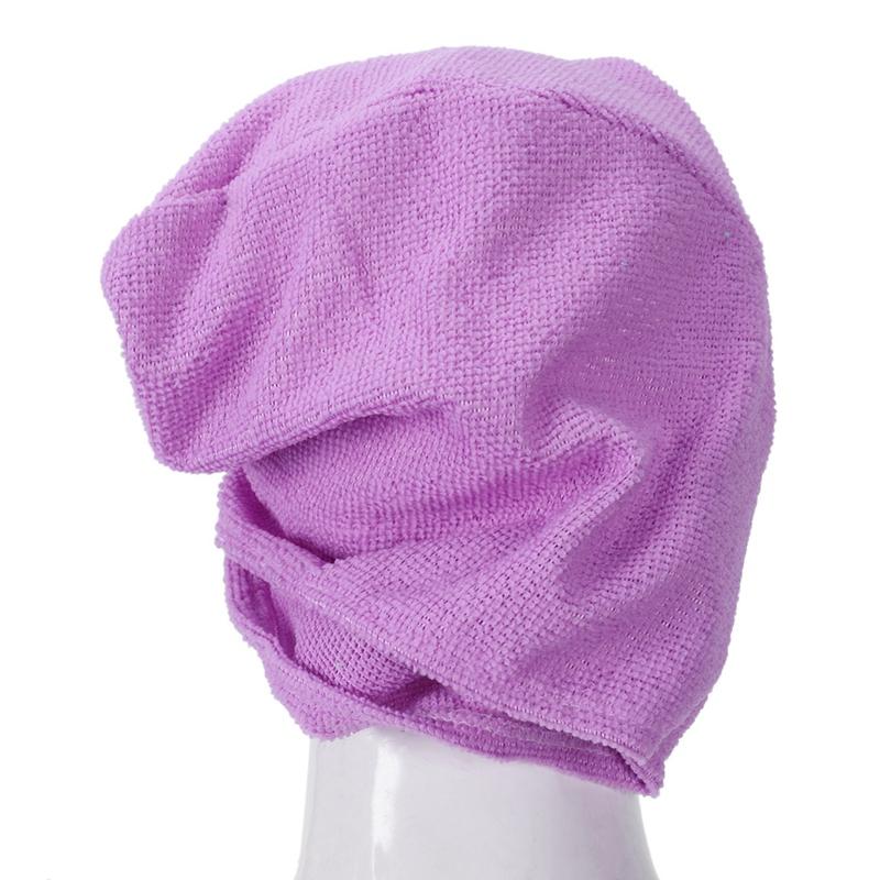 3X-Microfibre-Apres-La-Douche-Sechage-Des-Cheveux-Emballage-Serviette-Bonne-G6A8 miniature 20