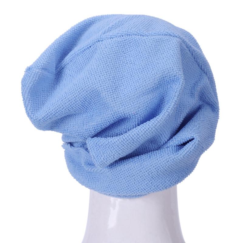 3X-Microfibre-Apres-La-Douche-Sechage-Des-Cheveux-Emballage-Serviette-Bonne-G6A8 miniature 40