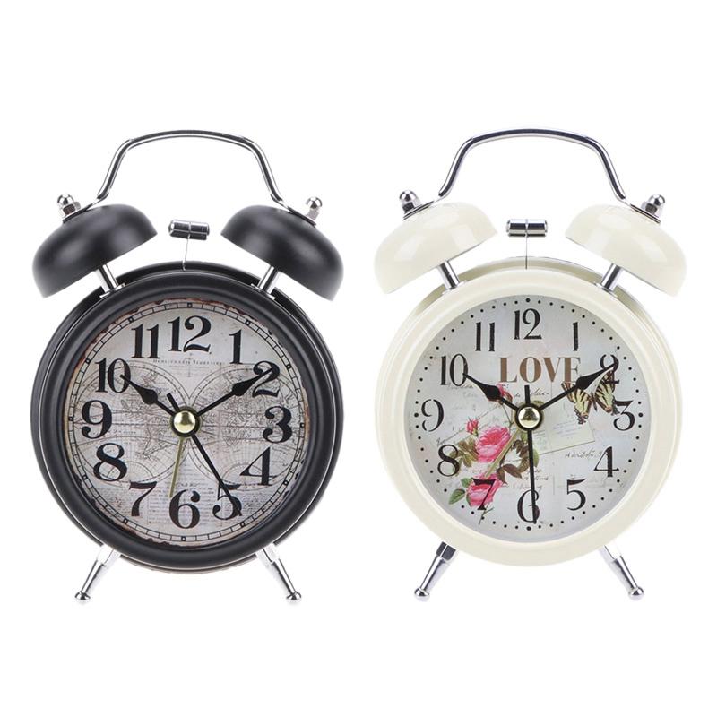 2X-Reveil-Retro-de-Menage-Double-Cloche-de-Numero-Rond-Horloge-Numerique-deW7J3 miniature 20