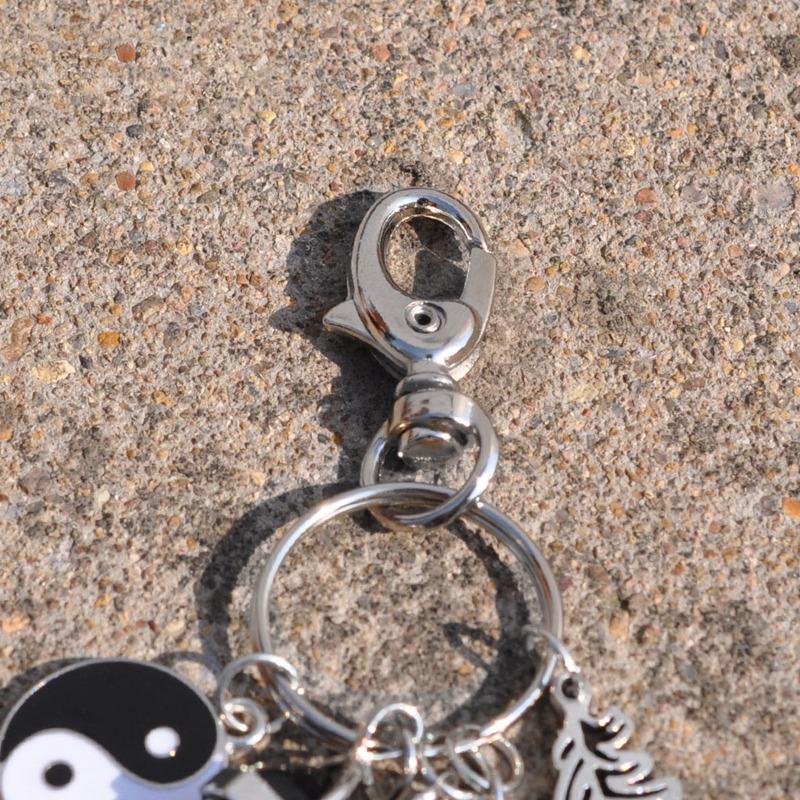 2X-Dream-Catcher-Keyring-Bag-Charm-Fashion-Boho-Jewelry-Feather-Keychain-M6L8 thumbnail 8