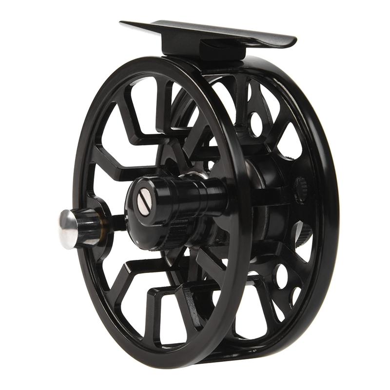 1X-LEO-2-1-Carrete-De-Pesca-con-Mosca-De-Rodamiento-De-Bolas-Carrete-De-PI6K9 miniatura 3