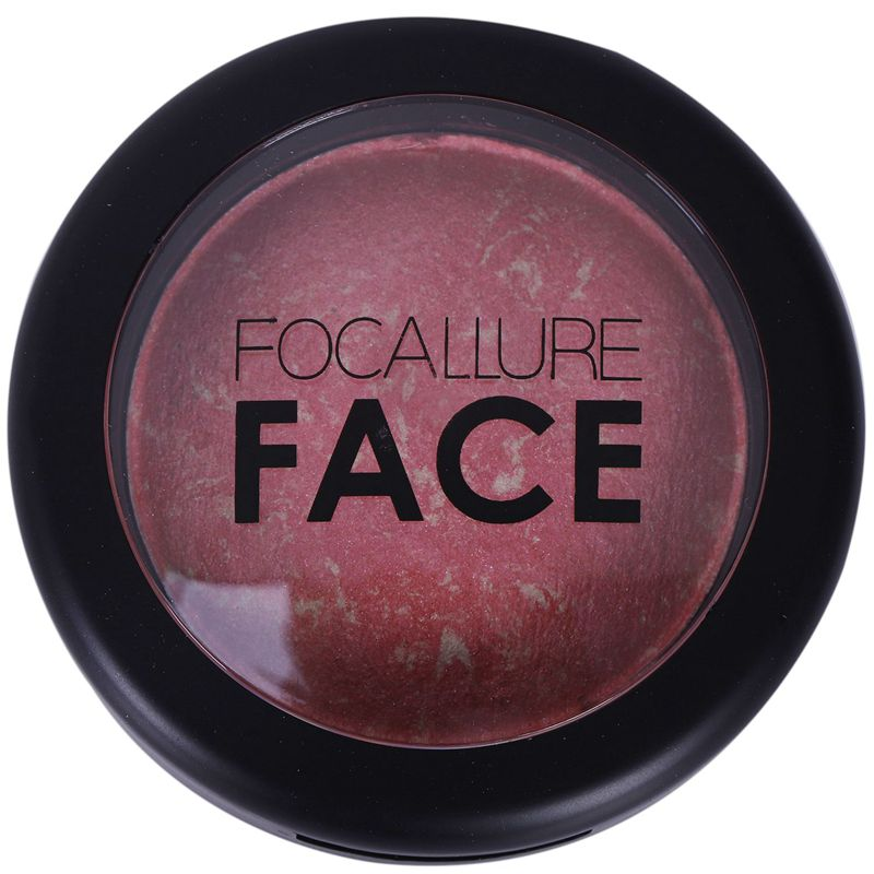 5X-FOCALLURE-FA17-Compressed-Natural-Facial-Blush-make-baked-cheek-blush-pal-U6 thumbnail 3