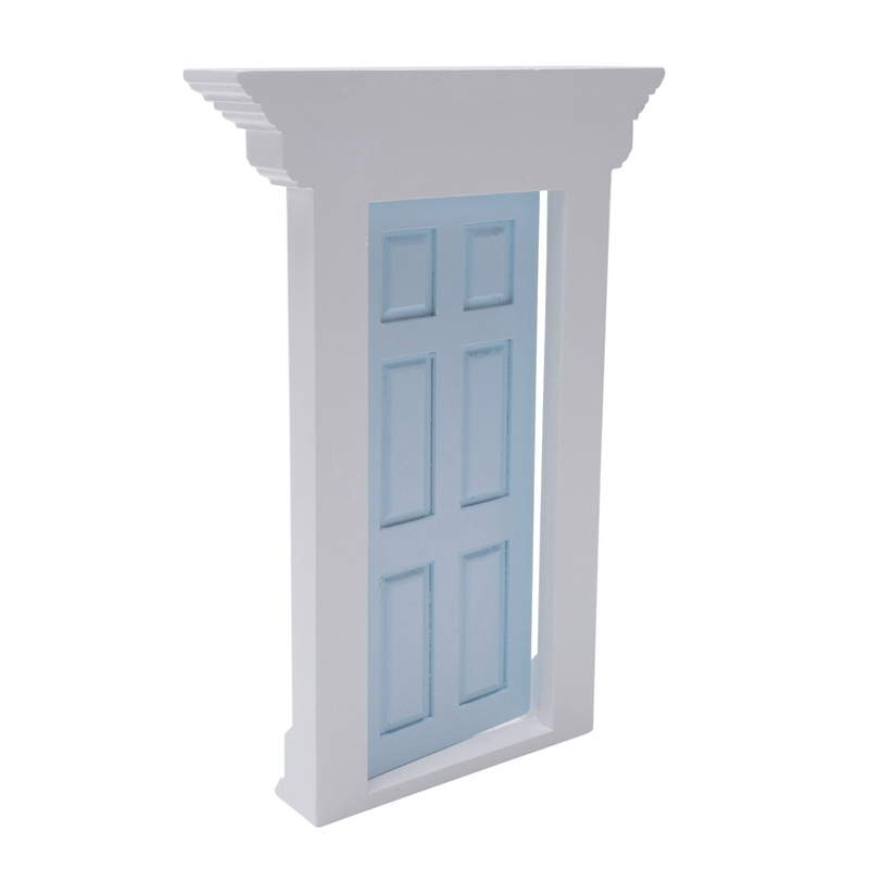 1-12-Scale-Wooden-Fairy-Front-Door-Dolls-House-Miniature-Accessory-K7W6 thumbnail 13
