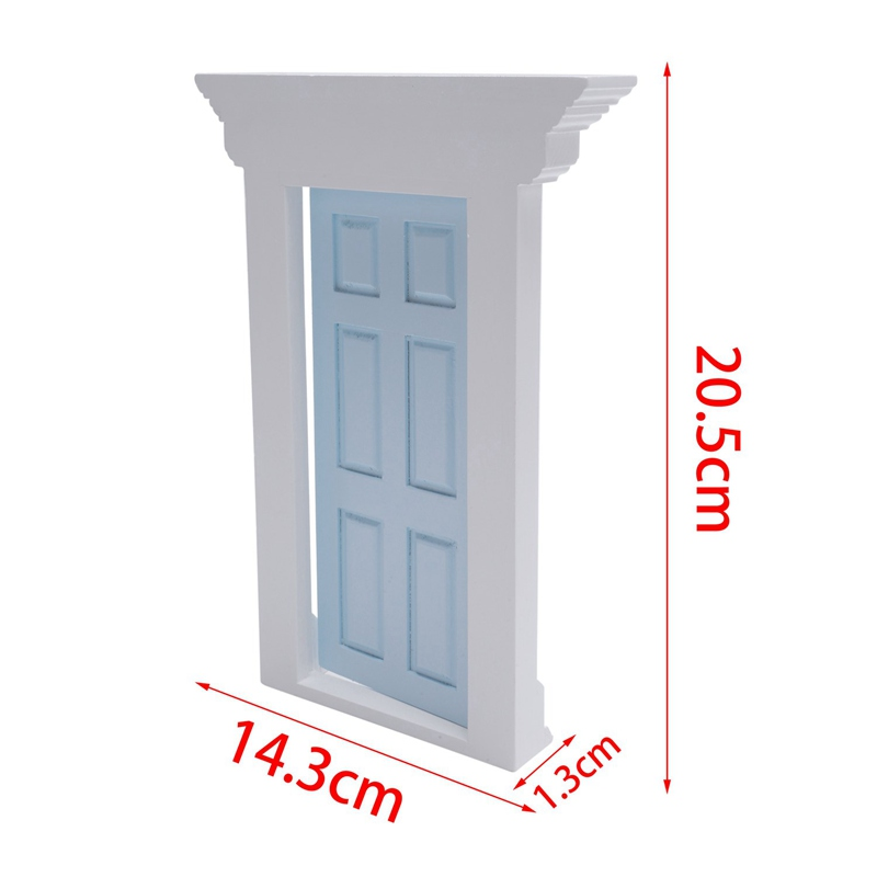 1-12-Scale-Wooden-Fairy-Front-Door-Dolls-House-Miniature-Accessory-K7W6 thumbnail 18
