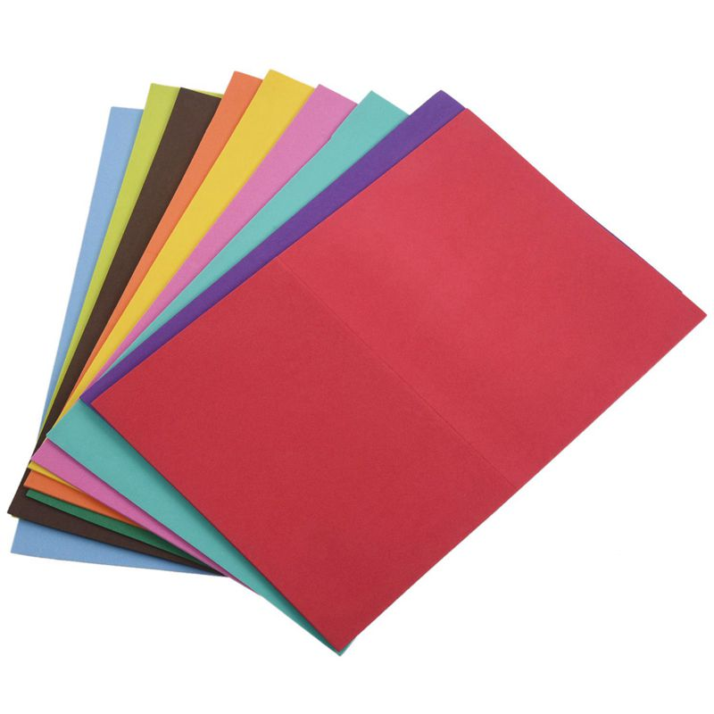 A4 Funky Foam Craft Sheets A4 Assorted Colourful Pack of 10