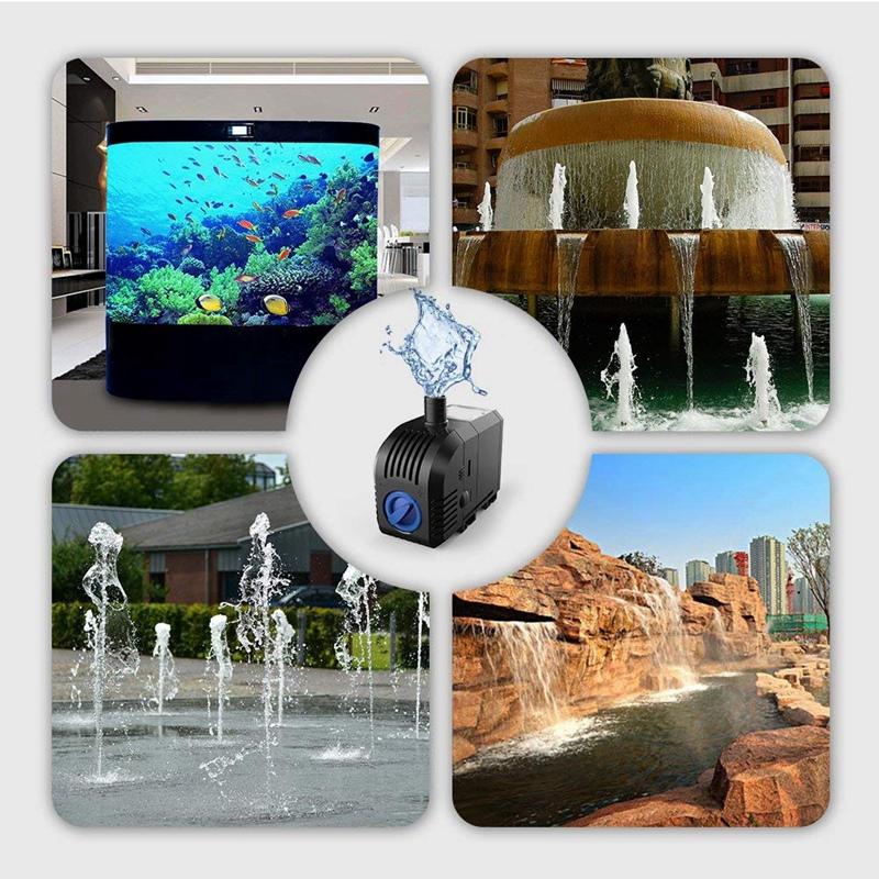 1X-45W-Mini-Tauchpumpe-Aquarium-Pumpe-Umlauffilter-Pumpe-Kleine-WasserpumpeQ3I7 Indexbild 4