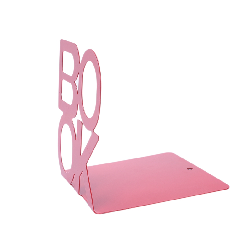 1X-Alphabet-Shaped-Metal-Bookends-Iron-Support-Holder-Desk-Stands-For-BooksT9N9 thumbnail 15