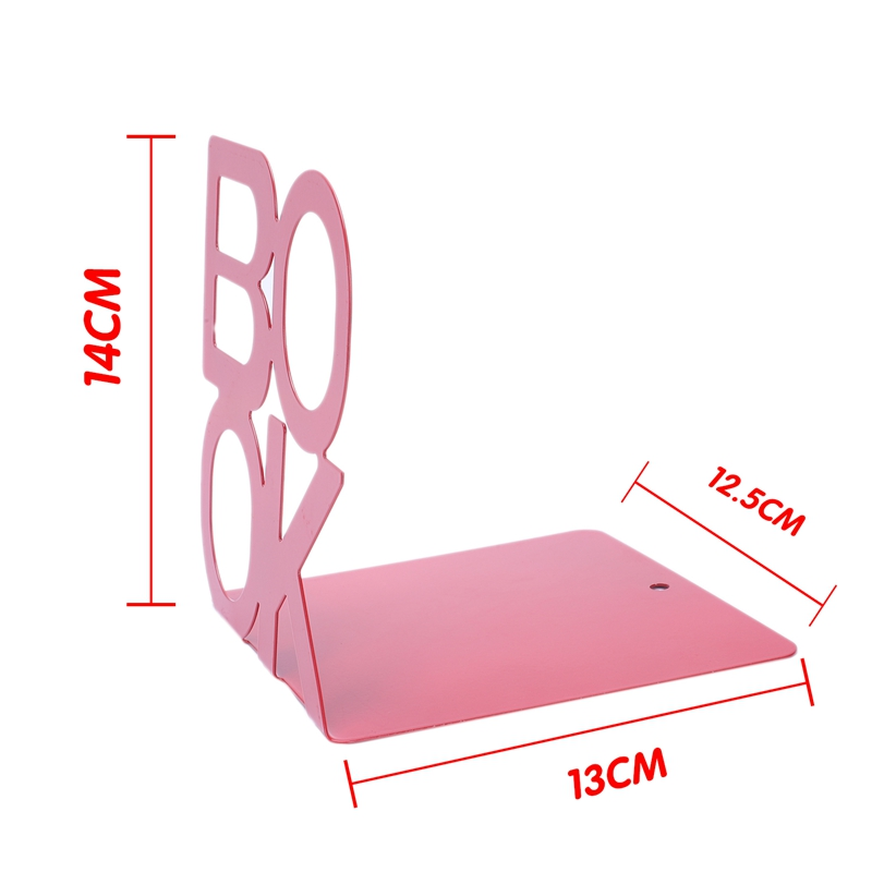 1X-Alphabet-Shaped-Metal-Bookends-Iron-Support-Holder-Desk-Stands-For-BooksT9N9 thumbnail 19