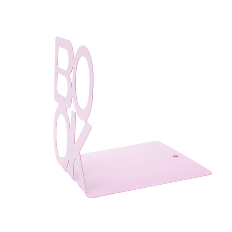 1X-Alphabet-Shaped-Metal-Bookends-Iron-Support-Holder-Desk-Stands-For-BooksT9N9 thumbnail 24