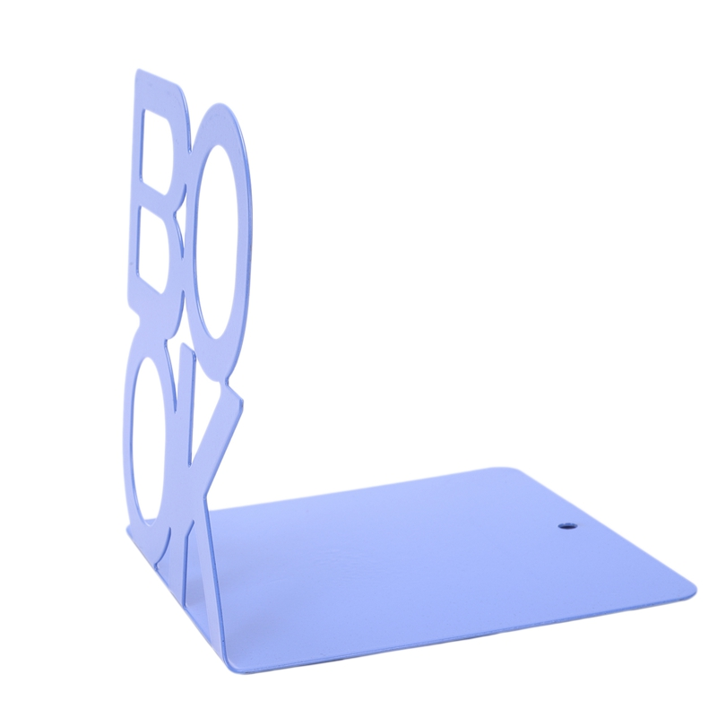 1X-Alphabet-Shaped-Metal-Bookends-Iron-Support-Holder-Desk-Stands-For-BooksT9N9 thumbnail 33