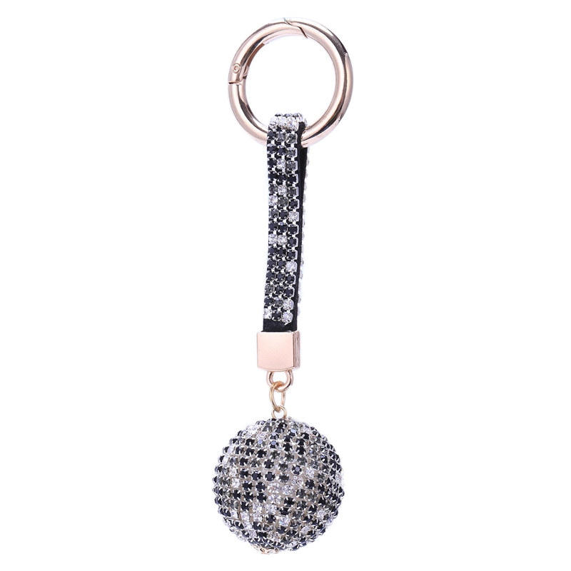 Strap-Ball-Car-Keychain-Charm-Pendant-Key-Ring-For-Women-M1A1 thumbnail 5
