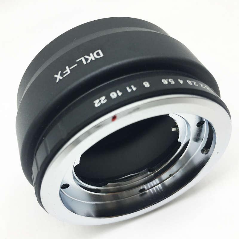 Dkl-NEX objetivamente adaptador Voigtländer retina dkl objetivamente Sony NEX cámara