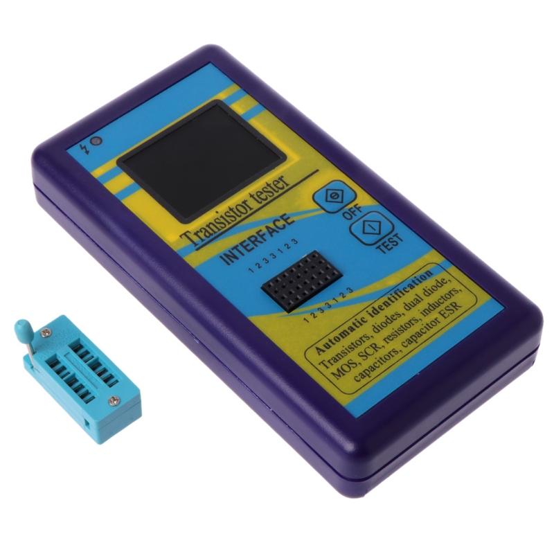 M328-Multi-Purpose-Transistor-Tester-Diode-Resistor-Esr-Capacitance-Lcr-Met-M2Y2 thumbnail 2