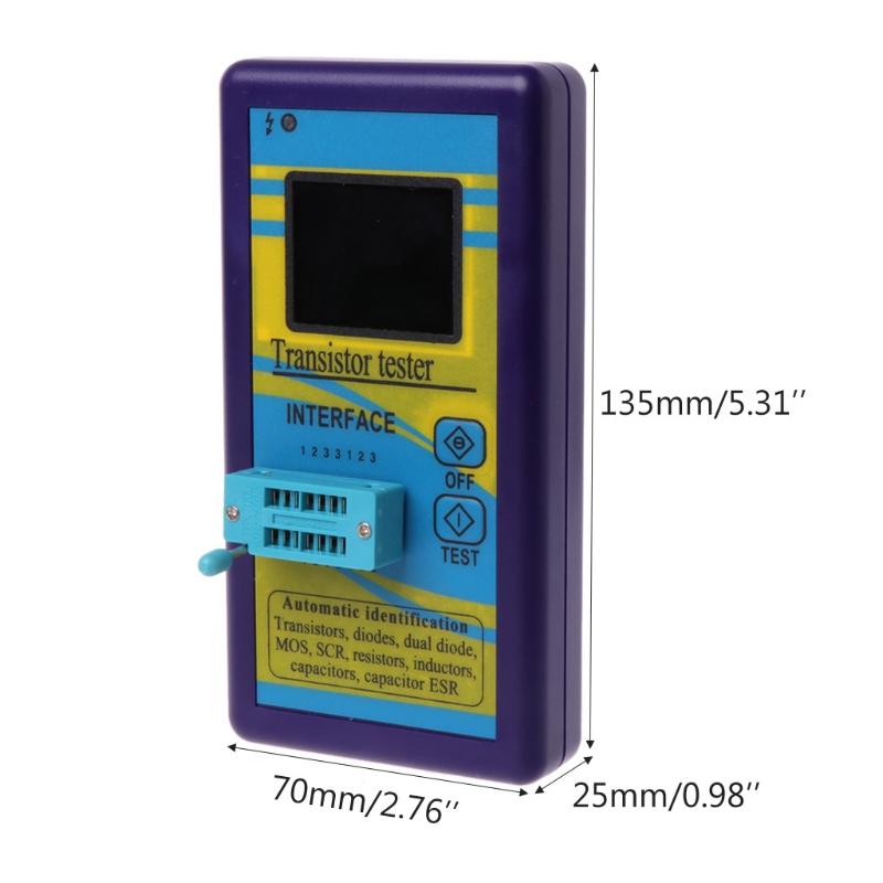 M328-Multi-Purpose-Transistor-Tester-Diode-Resistor-Esr-Capacitance-Lcr-Met-M2Y2 thumbnail 5