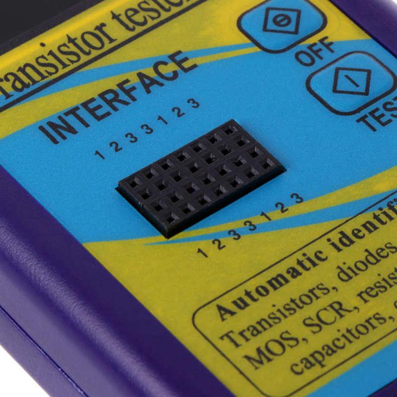 M328-Multi-Purpose-Transistor-Tester-Diode-Resistor-Esr-Capacitance-Lcr-Met-M2Y2 thumbnail 9