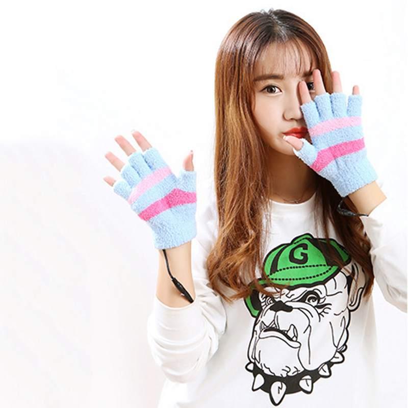 1-Paar-USB-Handschuhe-Beheizte-Winter-Warme-Handschuhe-Beheizte-Fingerlose-Y5R8 Indexbild 7