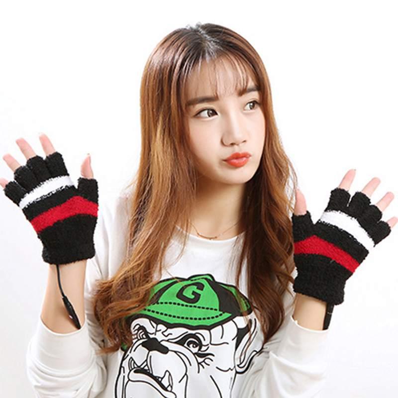 1-Paar-USB-Handschuhe-Beheizte-Winter-Warme-Handschuhe-Beheizte-Fingerlose-Y5R8 Indexbild 11