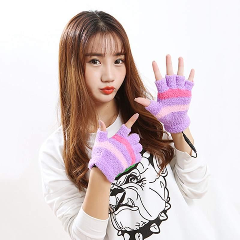1-Paar-USB-Handschuhe-Beheizte-Winter-Warme-Handschuhe-Beheizte-Fingerlose-Y5R8 Indexbild 16