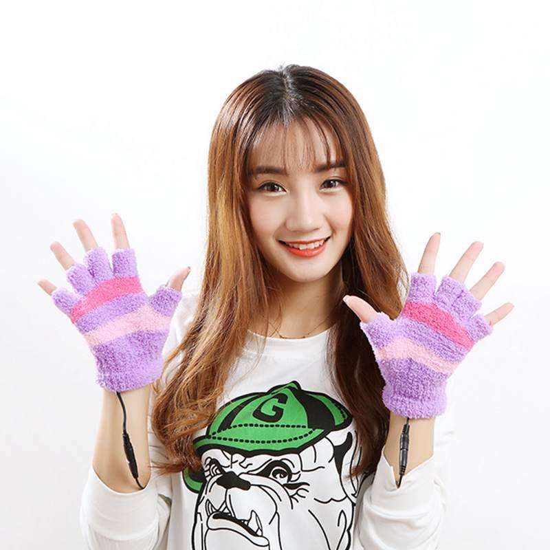 1-Paar-USB-Handschuhe-Beheizte-Winter-Warme-Handschuhe-Beheizte-Fingerlose-Y5R8 Indexbild 17