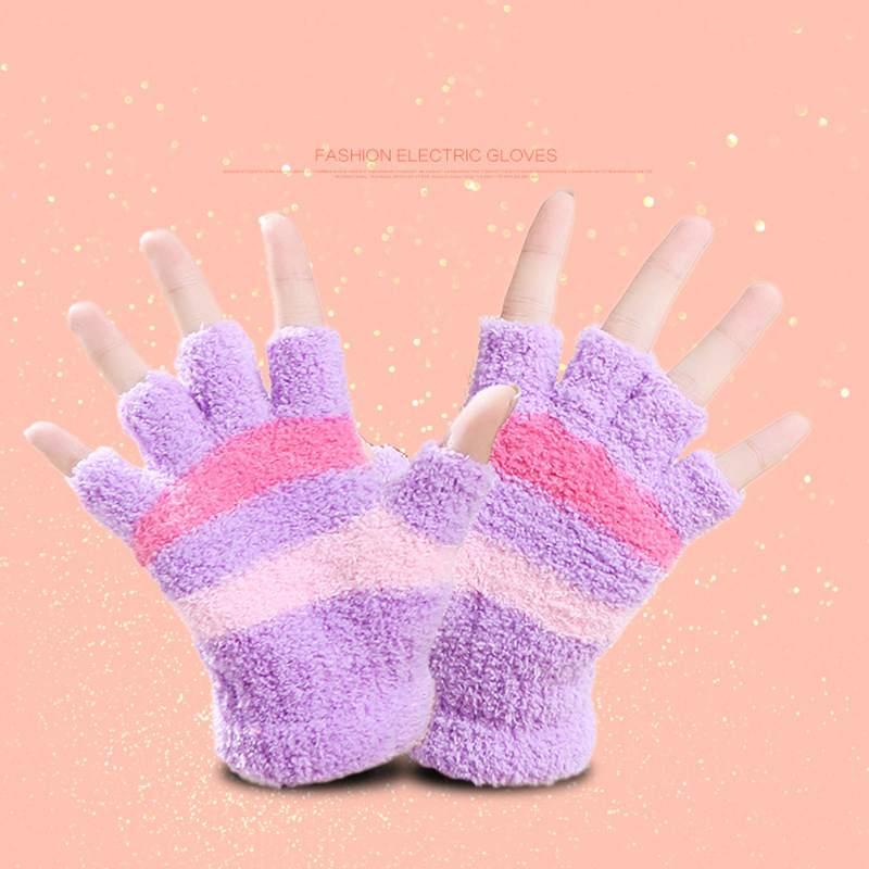 1-Paar-USB-Handschuhe-Beheizte-Winter-Warme-Handschuhe-Beheizte-Fingerlose-Y5R8 Indexbild 18