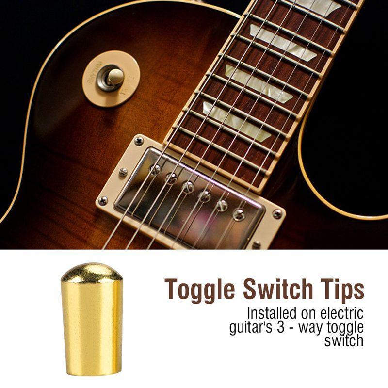 3 Wege Kippschalter Knopf für E Gitarre Innengewinde 3,5 mm