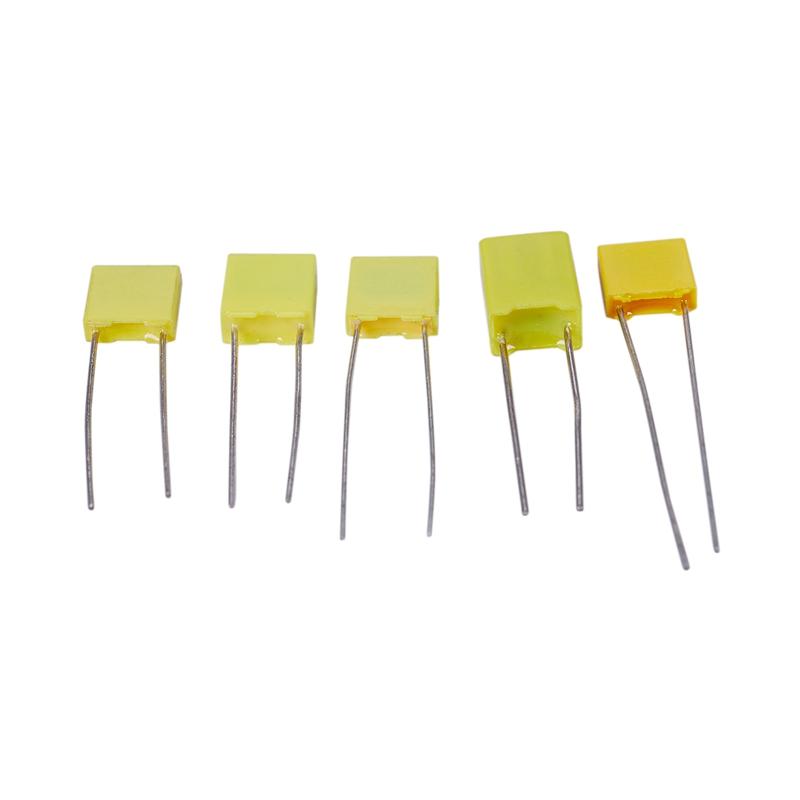 1nF-0.47uF I8L8 50pcs 10 Value Polypropylene Safety Plastic Film Capacitor