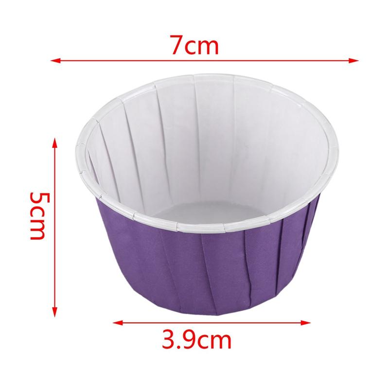 50X-Etui-A-Gateaux-De-Tasse-De-Cuisson-En-Papier-Dessert-De-Muffin-De-Doubl-K7C3 miniature 10
