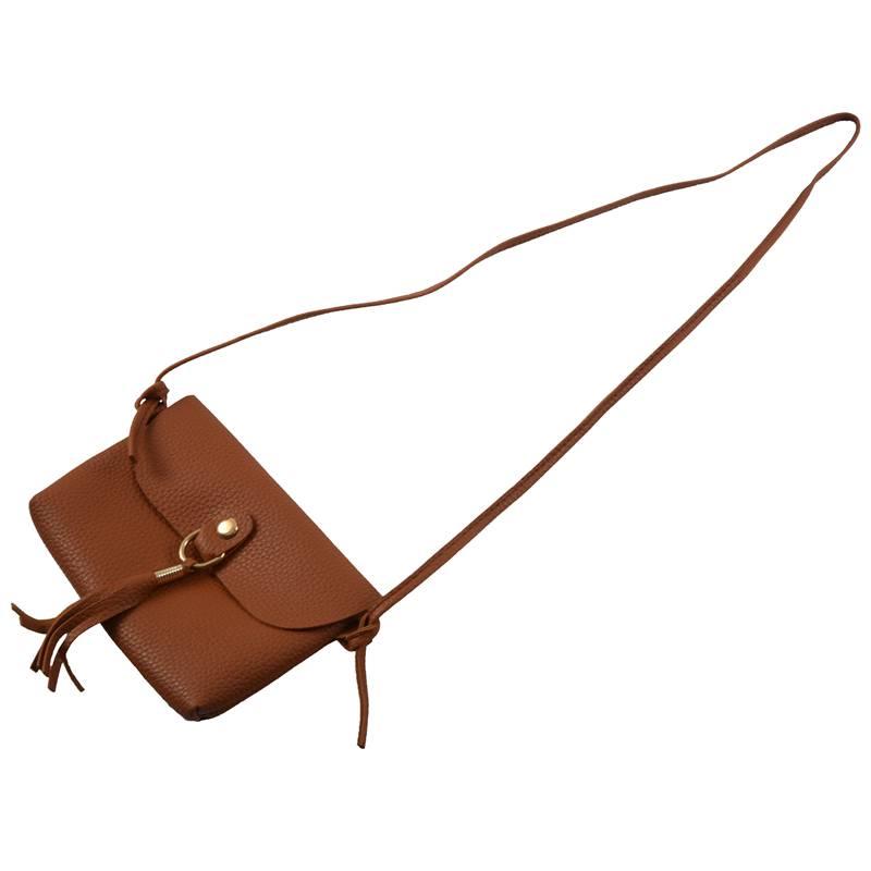 Mode-Tasche-Vintage-Handtasche-Kleine-Messenger-Quaste-UmhaeNgetaschen-G5U9 Indexbild 4
