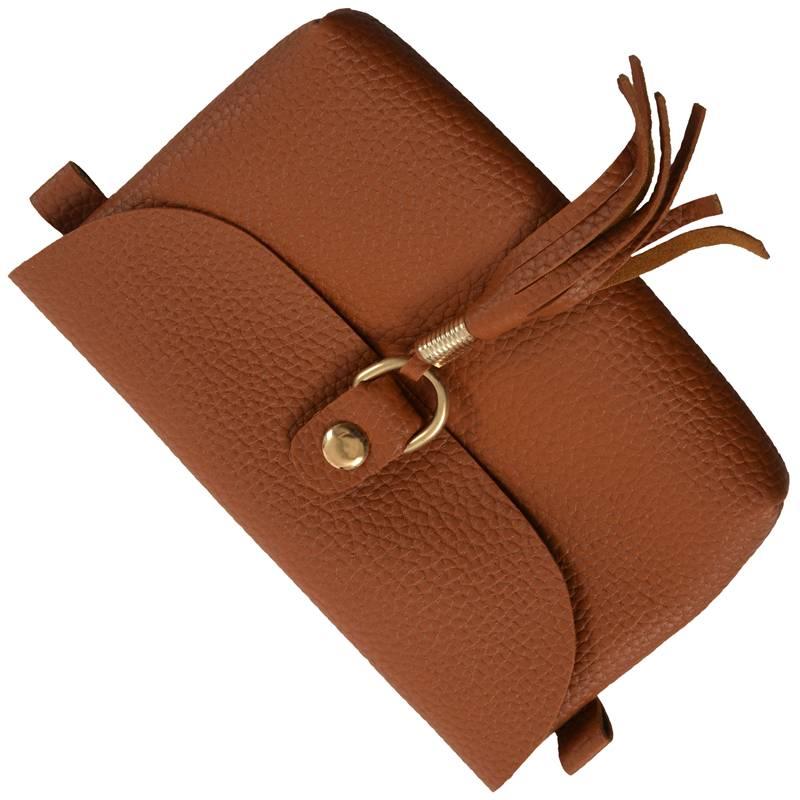 Mode-Tasche-Vintage-Handtasche-Kleine-Messenger-Quaste-UmhaeNgetaschen-G5U9 Indexbild 5