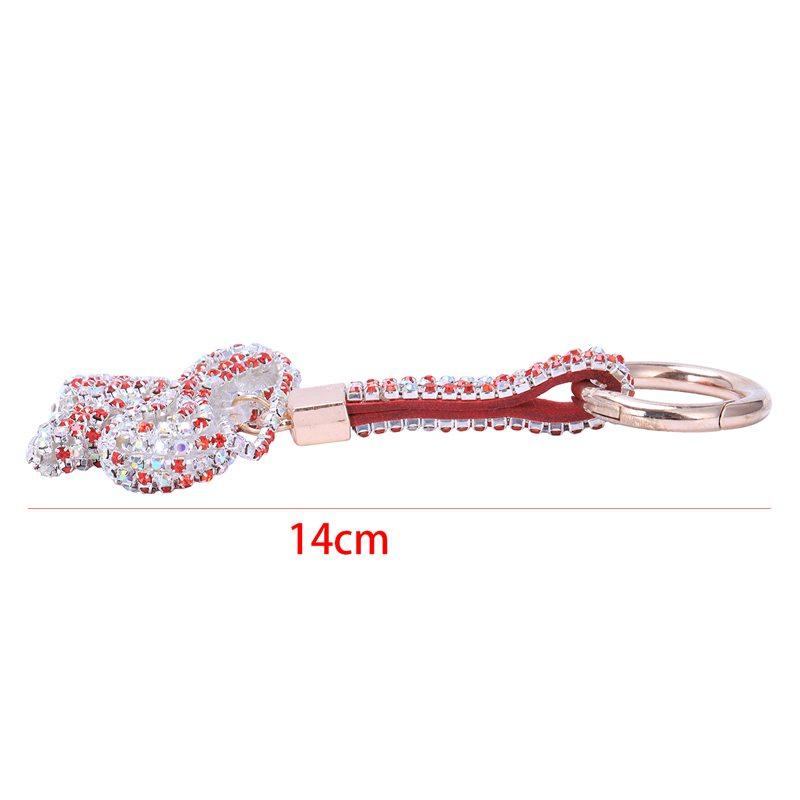 1-Pcs-Rhinestone-Bow-Jewelry-Keychain-Women-Key-Holder-Chain-Ring-Car-Bag-P-X5T4 miniature 5