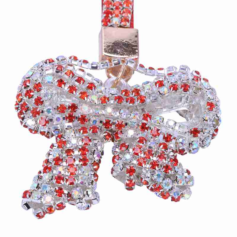 1-Pcs-Rhinestone-Bow-Jewelry-Keychain-Women-Key-Holder-Chain-Ring-Car-Bag-P-X5T4 miniature 8