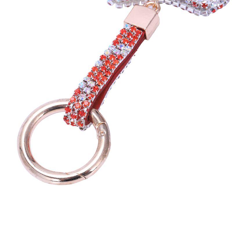 1-Pcs-Rhinestone-Bow-Jewelry-Keychain-Women-Key-Holder-Chain-Ring-Car-Bag-P-X5T4 miniature 9