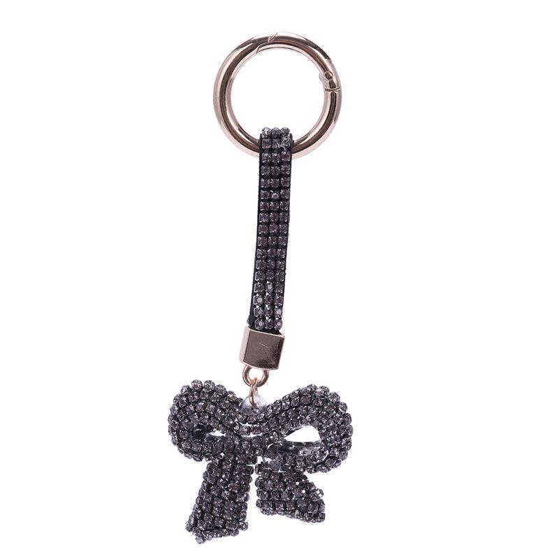1-Pcs-Rhinestone-Bow-Jewelry-Keychain-Women-Key-Holder-Chain-Ring-Car-Bag-P-X5T4 miniature 27