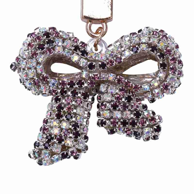 1-Pcs-Rhinestone-Bow-Jewelry-Keychain-Women-Key-Holder-Chain-Ring-Car-Bag-P-X5T4 miniature 48