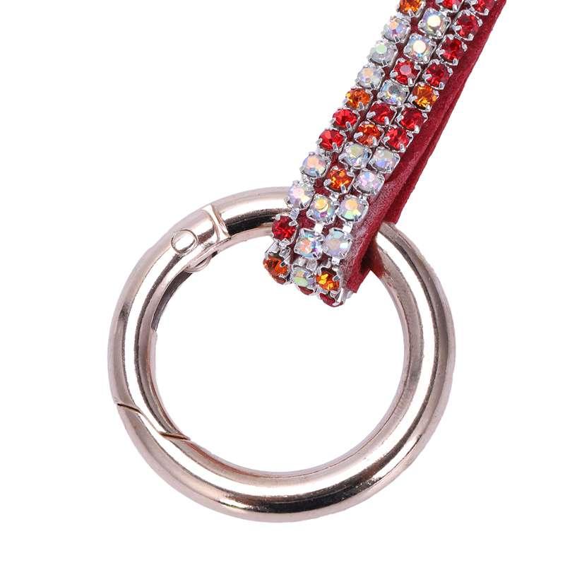 1-Pcs-Rhinestone-Bow-Jewelry-Keychain-Women-Key-Holder-Chain-Ring-Car-Bag-P-X5T4 miniature 56