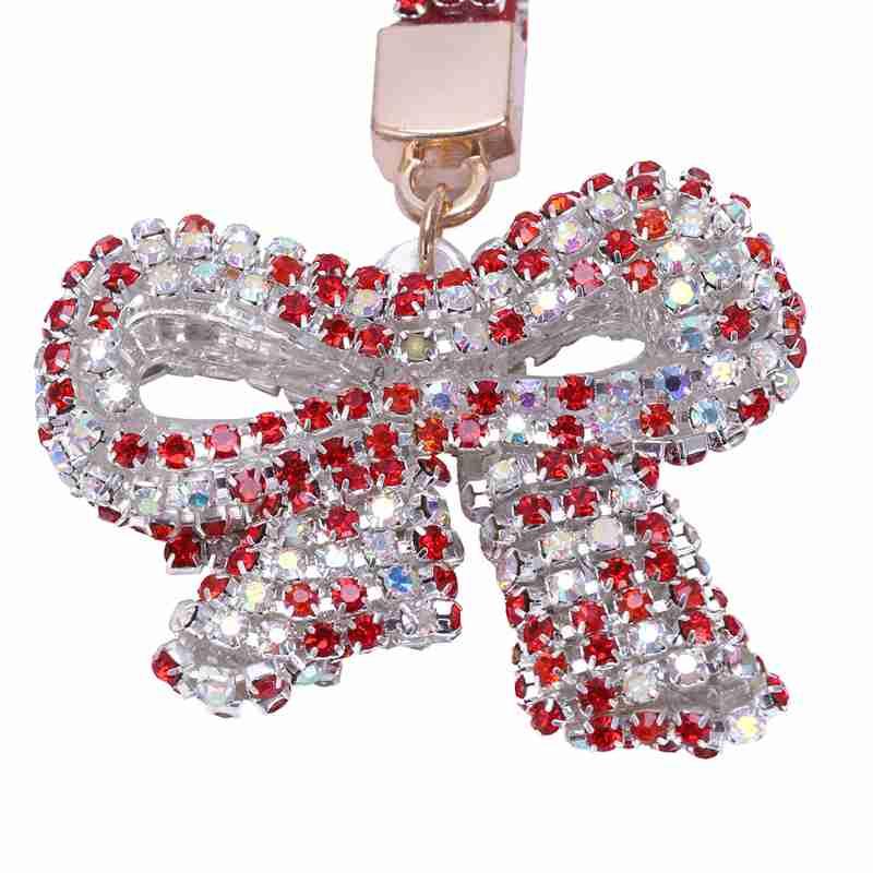 1-Pcs-Rhinestone-Bow-Jewelry-Keychain-Women-Key-Holder-Chain-Ring-Car-Bag-P-X5T4 miniature 57