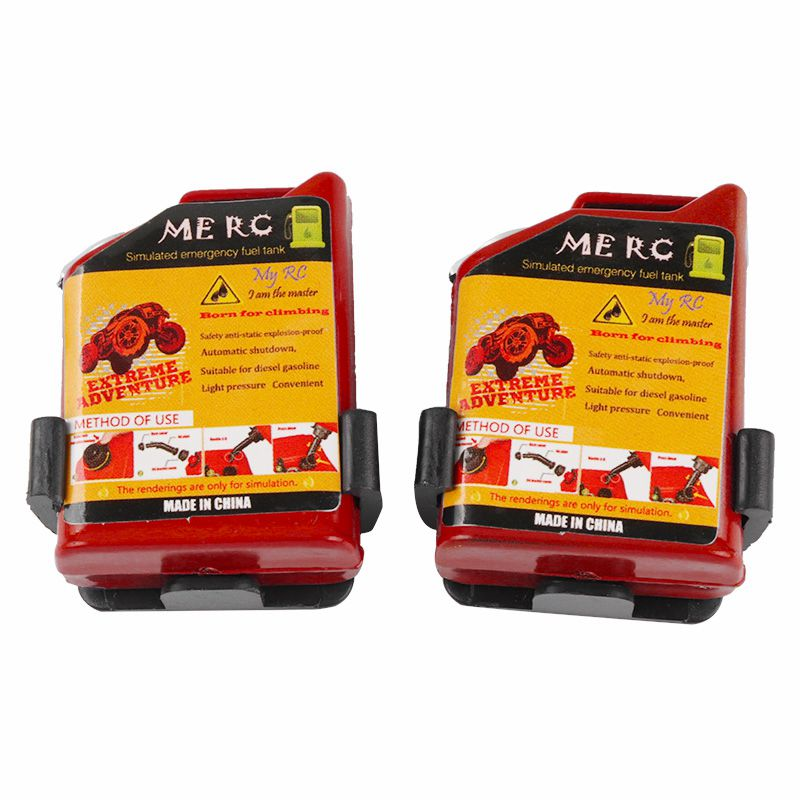 2-Unids-1-10-Escala-Rc-Accesorio-de-Oruga-Mini-Tanque-de-Combustible-Para-T-1H2 miniatura 8