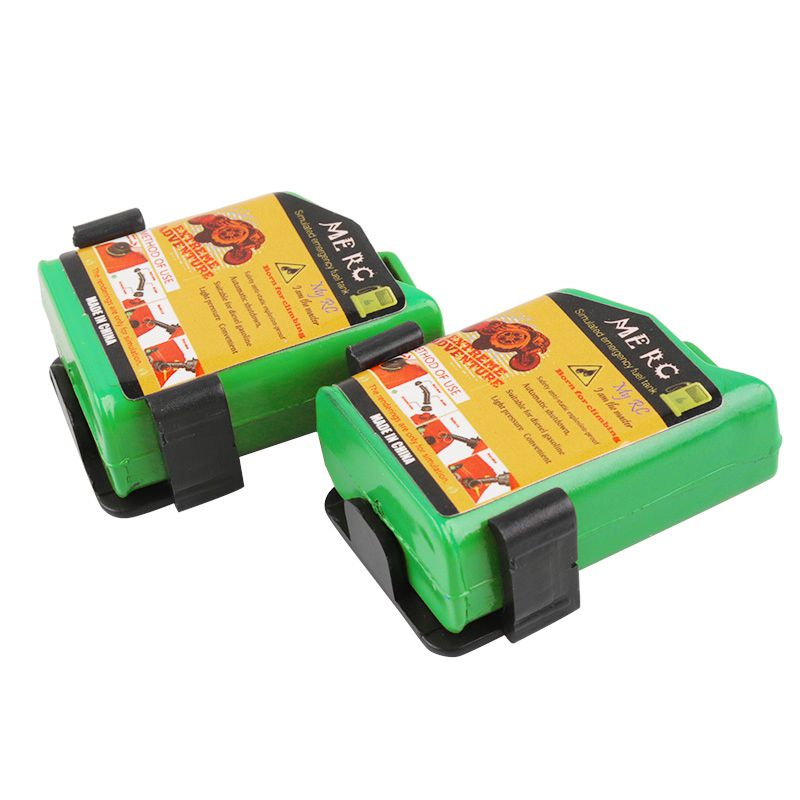 2-Unids-1-10-Escala-Rc-Accesorio-de-Oruga-Mini-Tanque-de-Combustible-Para-T-1H2 miniatura 11
