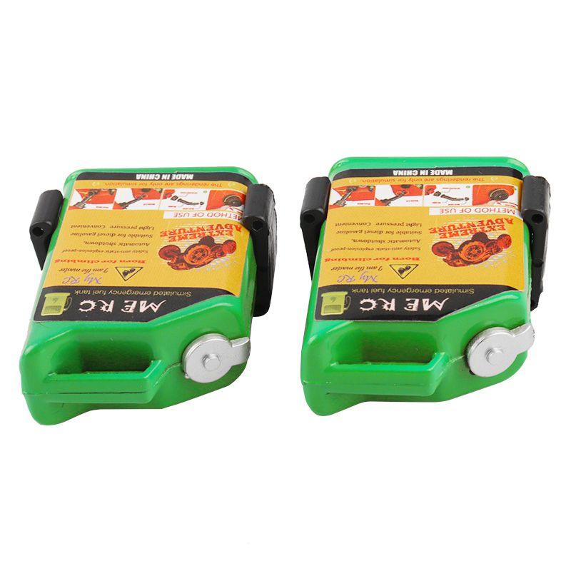 2-Unids-1-10-Escala-Rc-Accesorio-de-Oruga-Mini-Tanque-de-Combustible-Para-T-1H2 miniatura 17